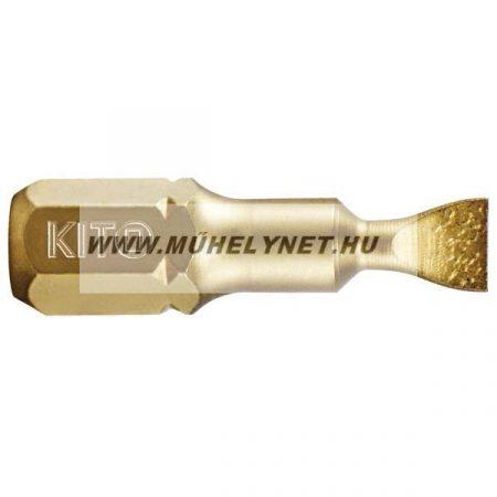 KITO bit lapos titánium SHARK S3.0,hossza 50 mm