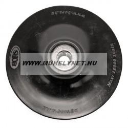 Gumitányér  115 mm sarokcsiszolóhoz