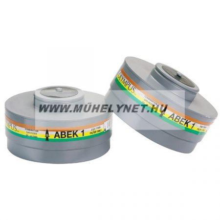 Gázálarc szűrő ABEK 1 specifikációval